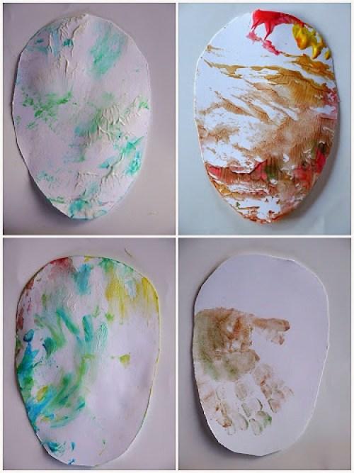 Velikonoční vajíčka z papíru