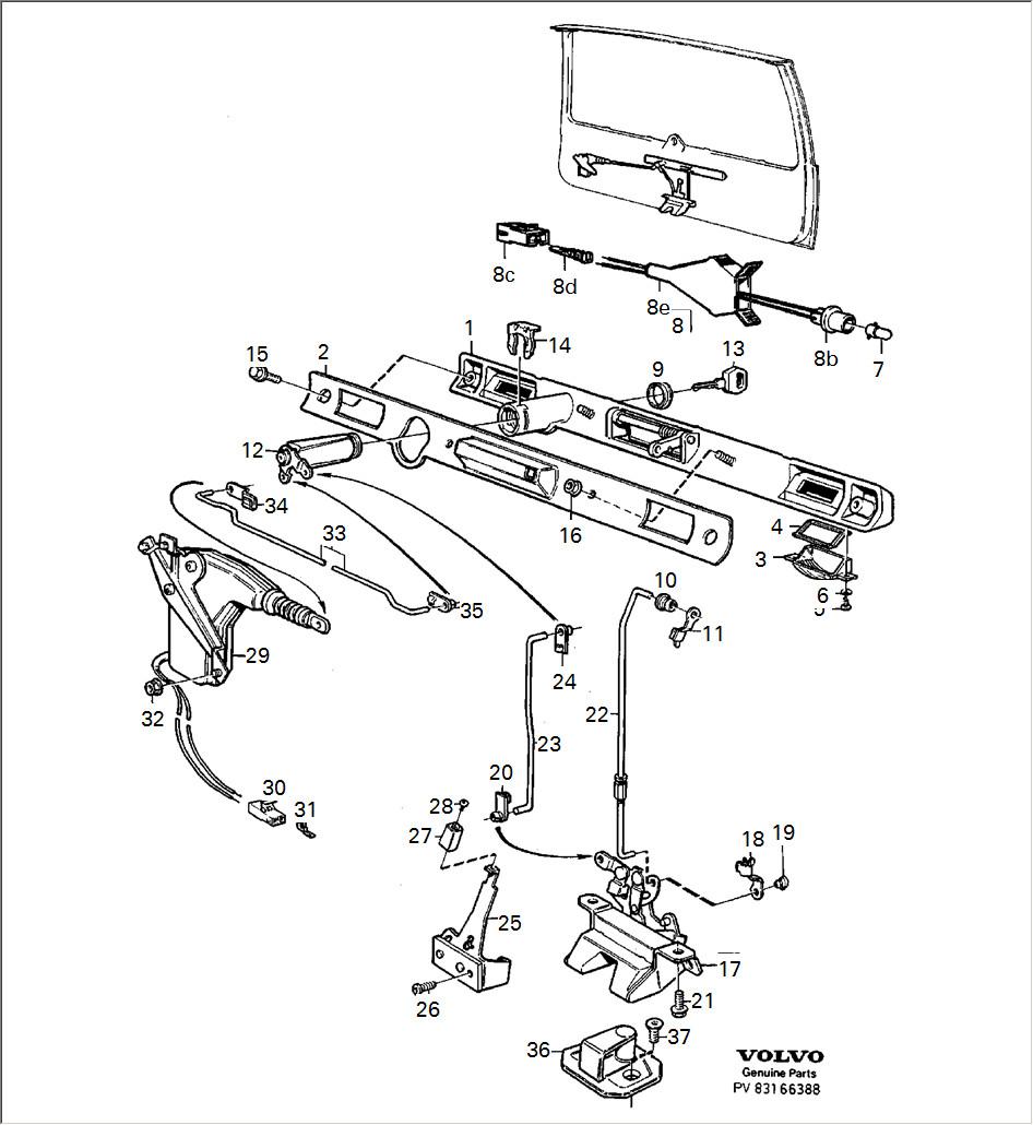 volvo 740 engine diagram