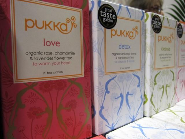 Detox Teas, organic herbs