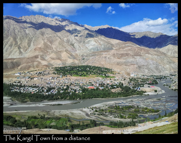 kargil ariel view