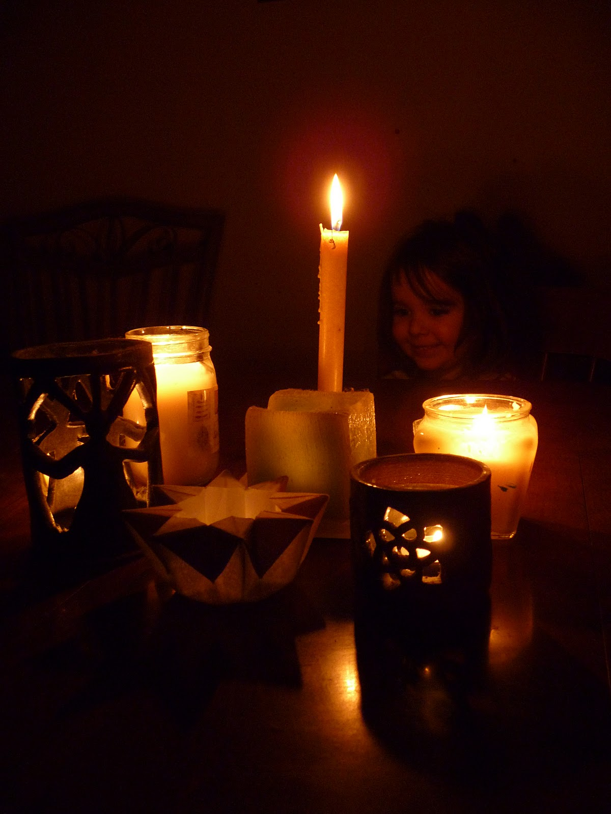 Candle Light Painting Verde Mama Painting By Candlelight