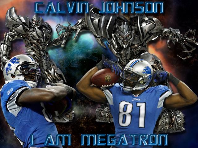 New England Patriots Iphone X Wallpaper Calvin Johnson I Am Megatron Detroit Lions Wallpaper Hot