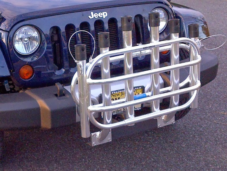 Driving On The Beach With Cooler Racks Front Or Rear