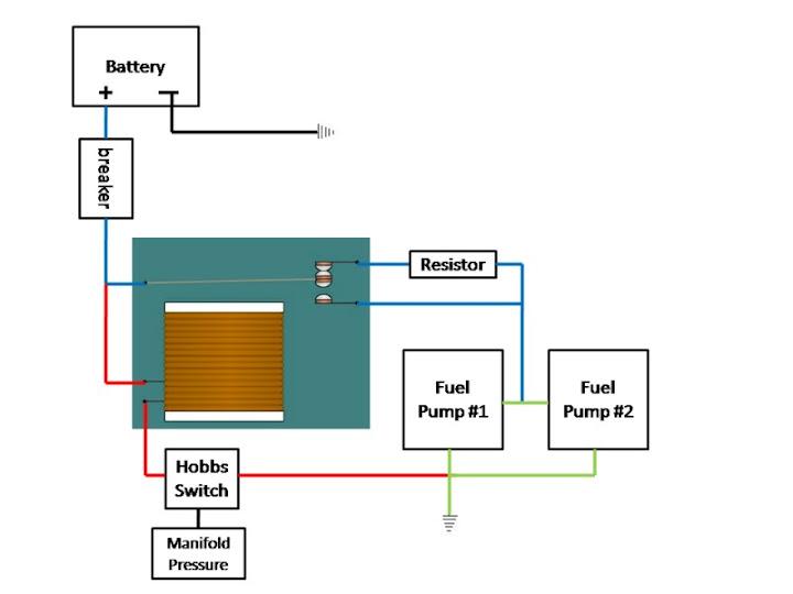 TwinTurboNET Nissan 300ZX forum - Custom Wiring of Dual Fuel Pump