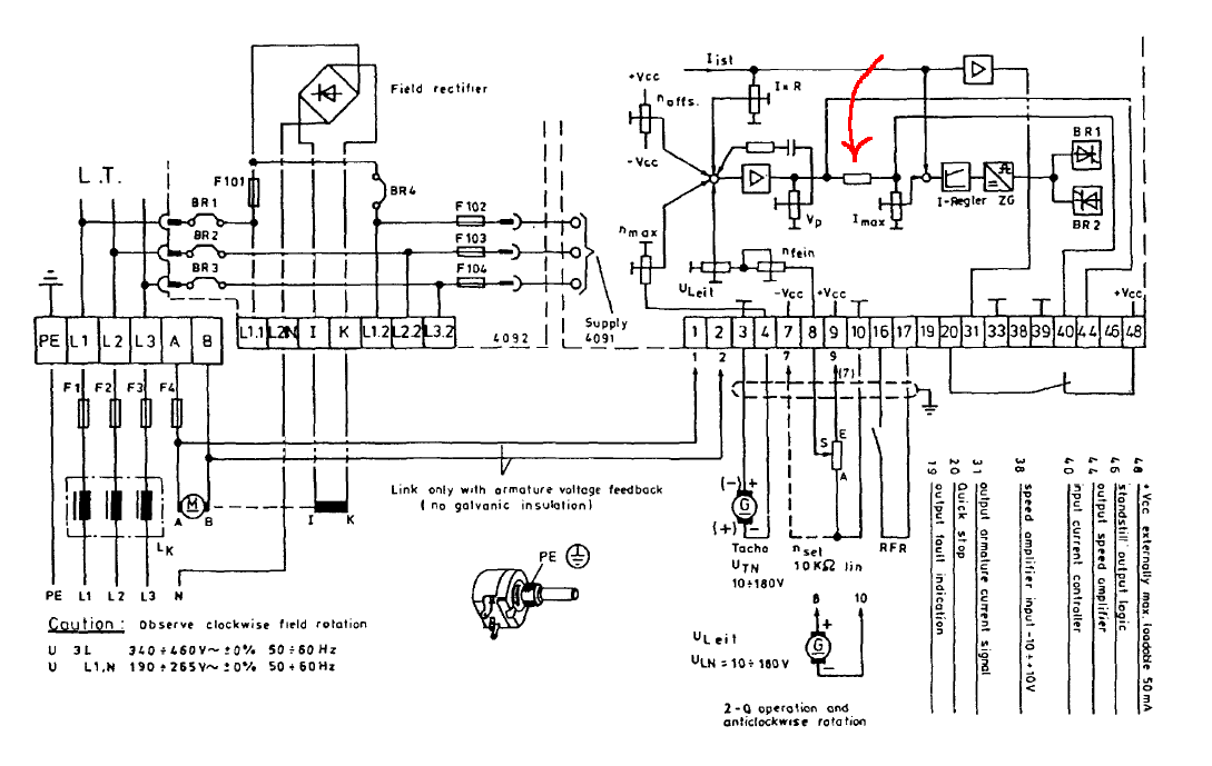 lenze smvector wiring diagram