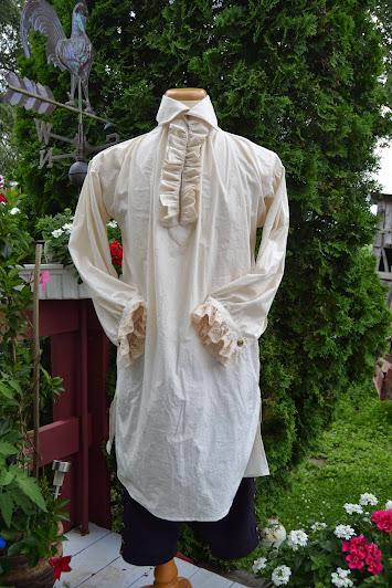 chemise xviii siecle