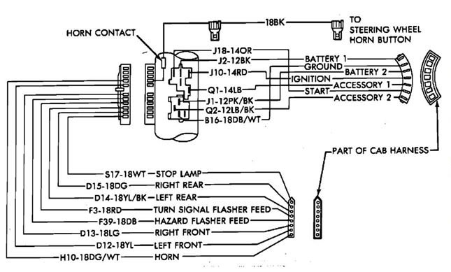1987 Dodge Radio Wiring Diagram Online Wiring Diagram