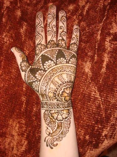 Mehandi designs arabic