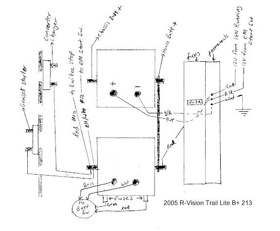 wiring diagram for motorhome steps
