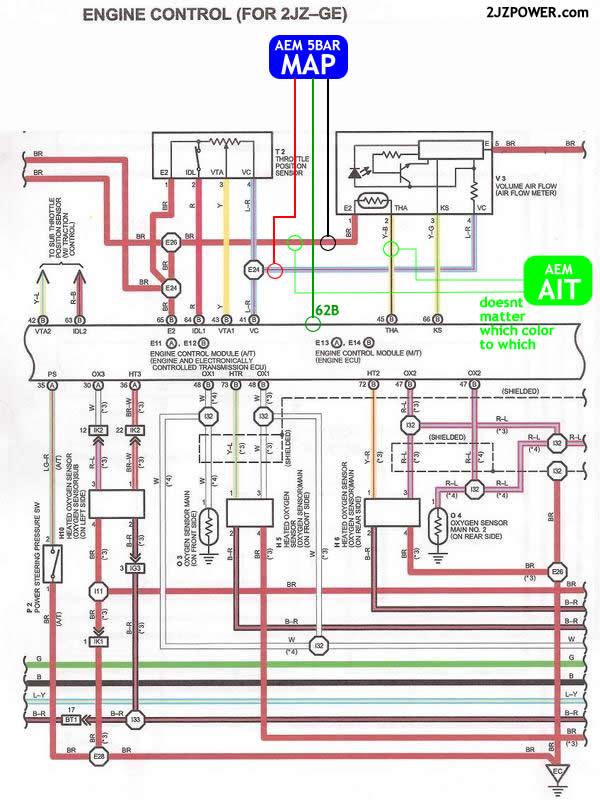 93 lexus ls400 spark plug wiring diagram