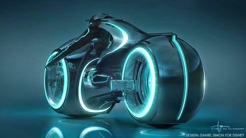 tron+legacy+Light Cycle+daniel+simon
