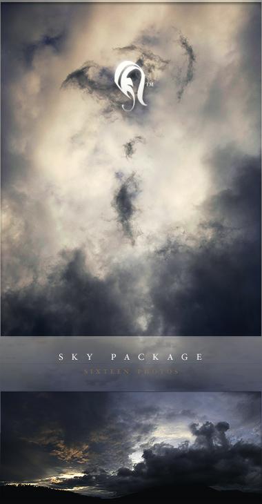 Paisagens de céu pacote de imagens