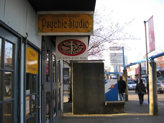Psychic studio on Granville Island