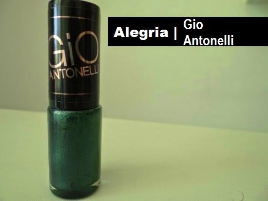Esmalte Alegria Gio Antonelli