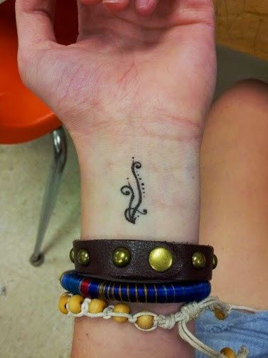 small wrist tattoos