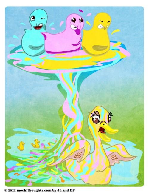 Cute webcomic Melty Peeps