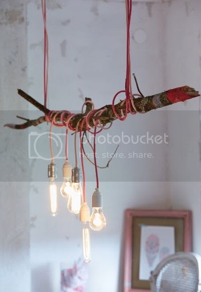Lampe Aufhängen Artisserie: Diy: Make A Lamp With A Branch * Diy