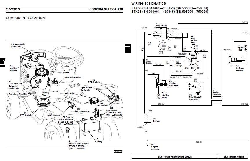 wiring diagram for stx38