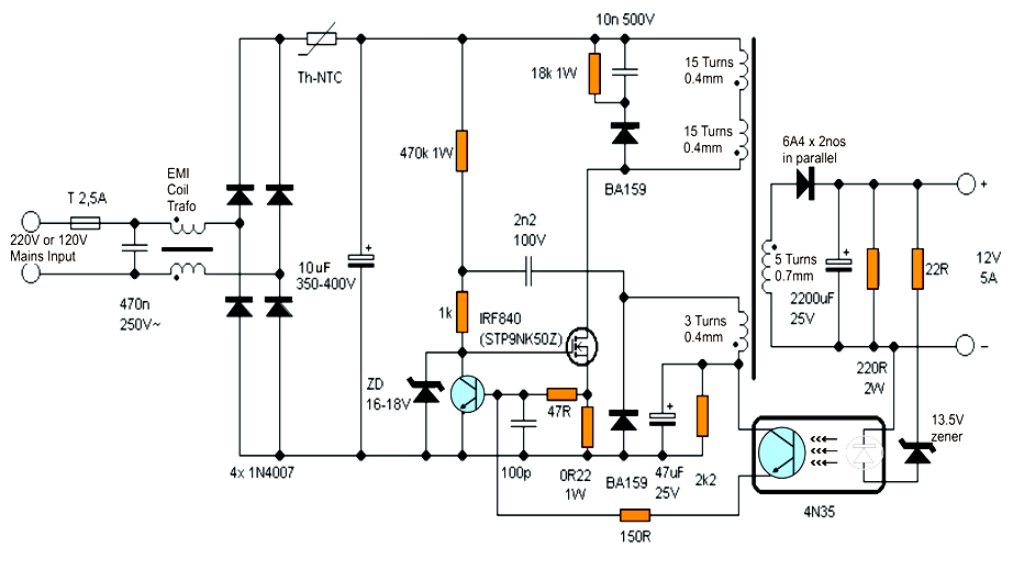 best 12 volt auto battery charger circuit using lm311