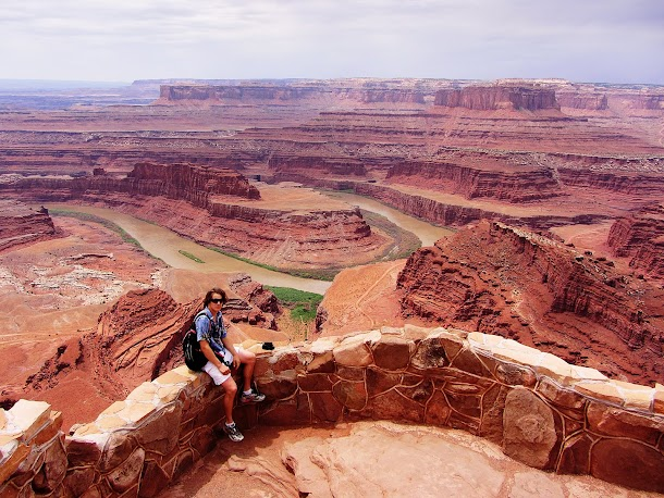 Sam on Dead Horse Point lookout.jpg