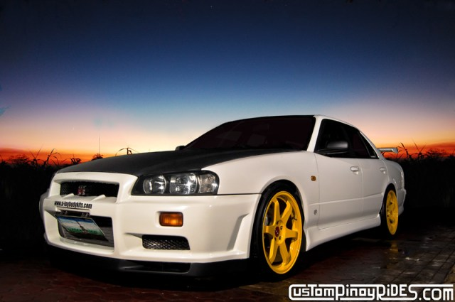 Atoy Llave R34 Nissan Skyline Custom Pinoy Rides pic1