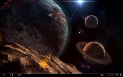 Planetscape 3D Live Wallpaper APK - APKName.com
