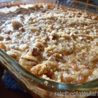 Eat In Recipe:  Ruth's Chris Sweet Potato Casserole