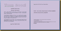 Free Microsoft Word Childrens Book Templates Now In Two