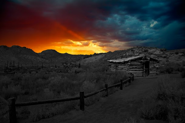 Wolfe Ranch Sunset - Arches National Park.jpg