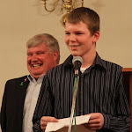 Hall of Fame inductee Bill Hinchley's grandson spoke about his grandfather.