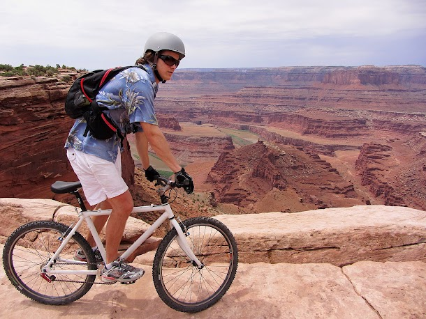 Riding along the rim at Dead Horse Point.jpg