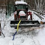 Bucket Log Skidding
