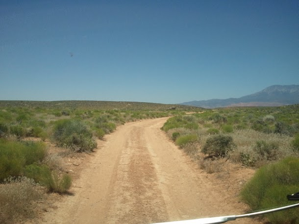 The Road to Gooseberry Mesa
