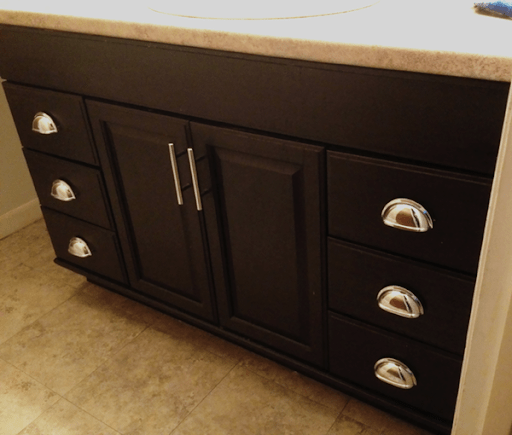 Stain Particle Board Kitchen Cabinets Staining Oak Cabinets An Espresso Finish {faq's} | Monica