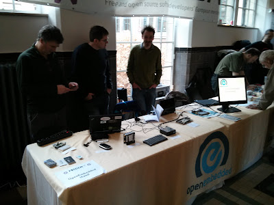 OpenEmbedded stand