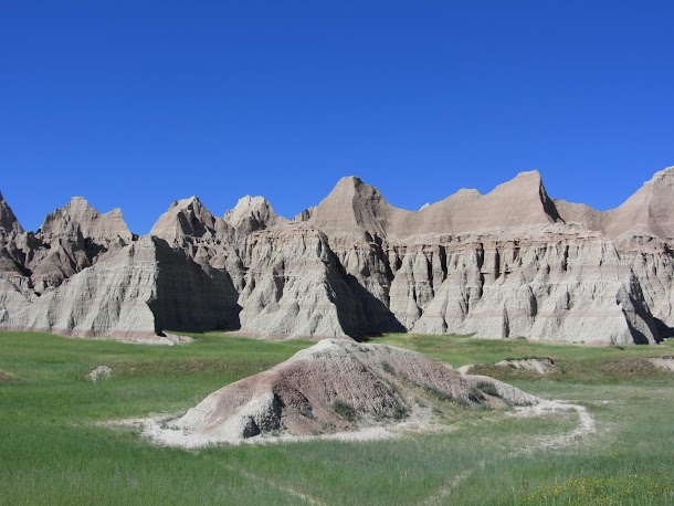Dramatic landscapes of Badlands.JPG