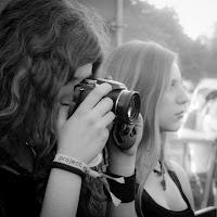 festival-goers - OSTFEST 2012 - BW with Fuji X10