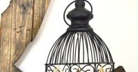 His and Hers: Earring Storage: Birdcages Arent Just For Birds