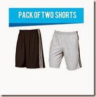 Demokrazy-Pack-Of-2-Shorts-Grey