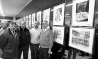Exposición Navidad 200e: Evencio Cortina, Julio Gomez, Carlos Diez, Juan Antonio Uriarte