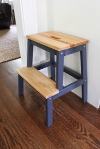 Ikea Bekvam Step Stool Hack For Kids - Danks and Honey