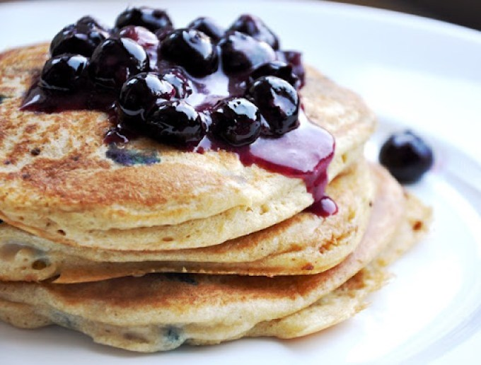 blueberry pancakes 091