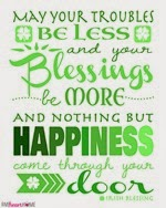 Five Heart Home - Irish Blessing Printable