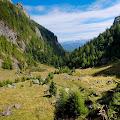 trekking the Bucegi mountains with Fuji X10