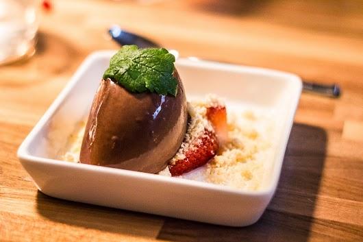 Dessert på Tapasbaren i København - Mikkel Bækgaards Madblog