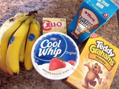 Banana Bear Pudding 1