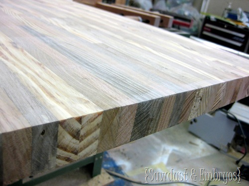 How To Build A Butcher Block Counter