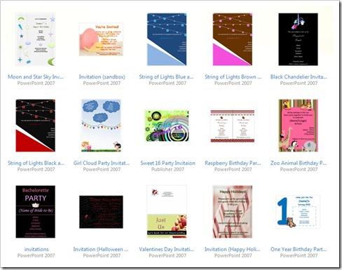 microsoft birthday invitation templates xv-gimnazija