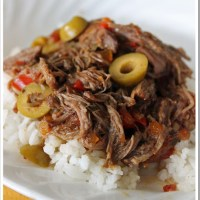 Eat In Recipe:  Caribbean Ropa Vieja