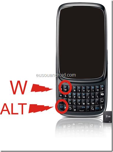Alt W